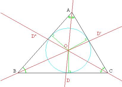 'Clasificación del triángulo, mediatriz, bicectriz, baricentro'
