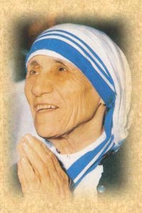 'Juan Pablo II. Madre Teresa de Calculta'