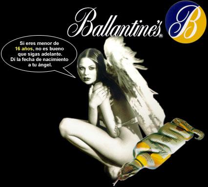 Análisis de un anuncio de Ballantines