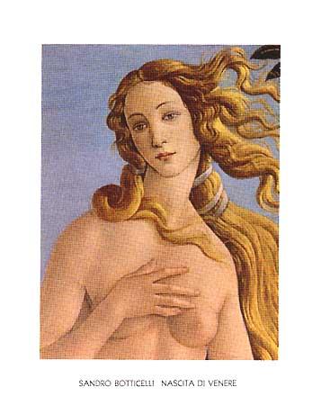 Sandro Botticelli. Naixement de Venus