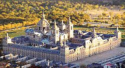 Fachadas del Monasterio de San Lorenzo del Escorial
