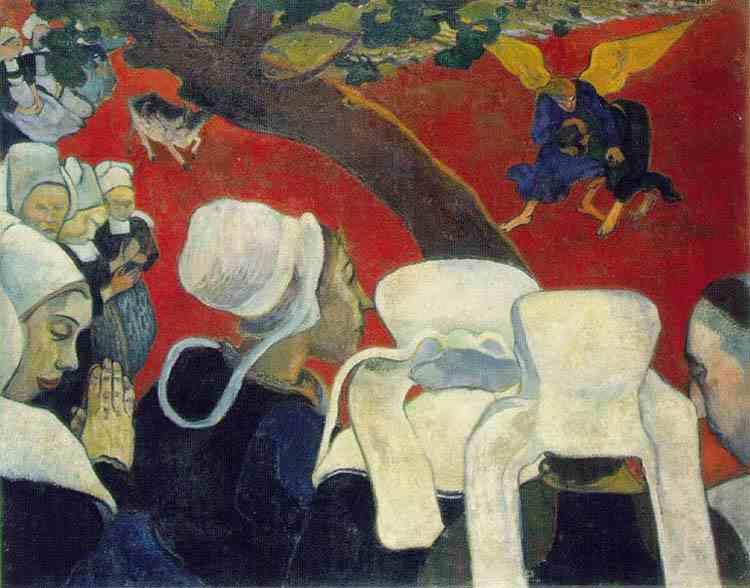 'Visión del Sermón; Paul Gauguin'