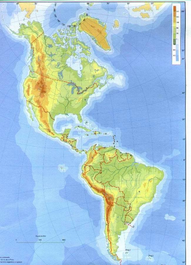 'Montañas de América'