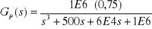 Diseño de un regulador de tiempo finito para una red RC