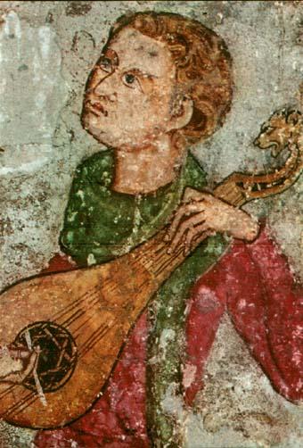 Instrumentos musicales medievales