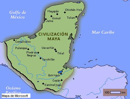 'Civilización Maya'