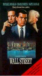 Wall Street; Oliver Stone