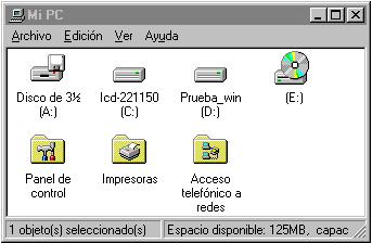 Conexión a Internet con Microsoft Windows95