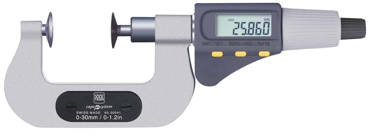 'Micrómetro de platillos'