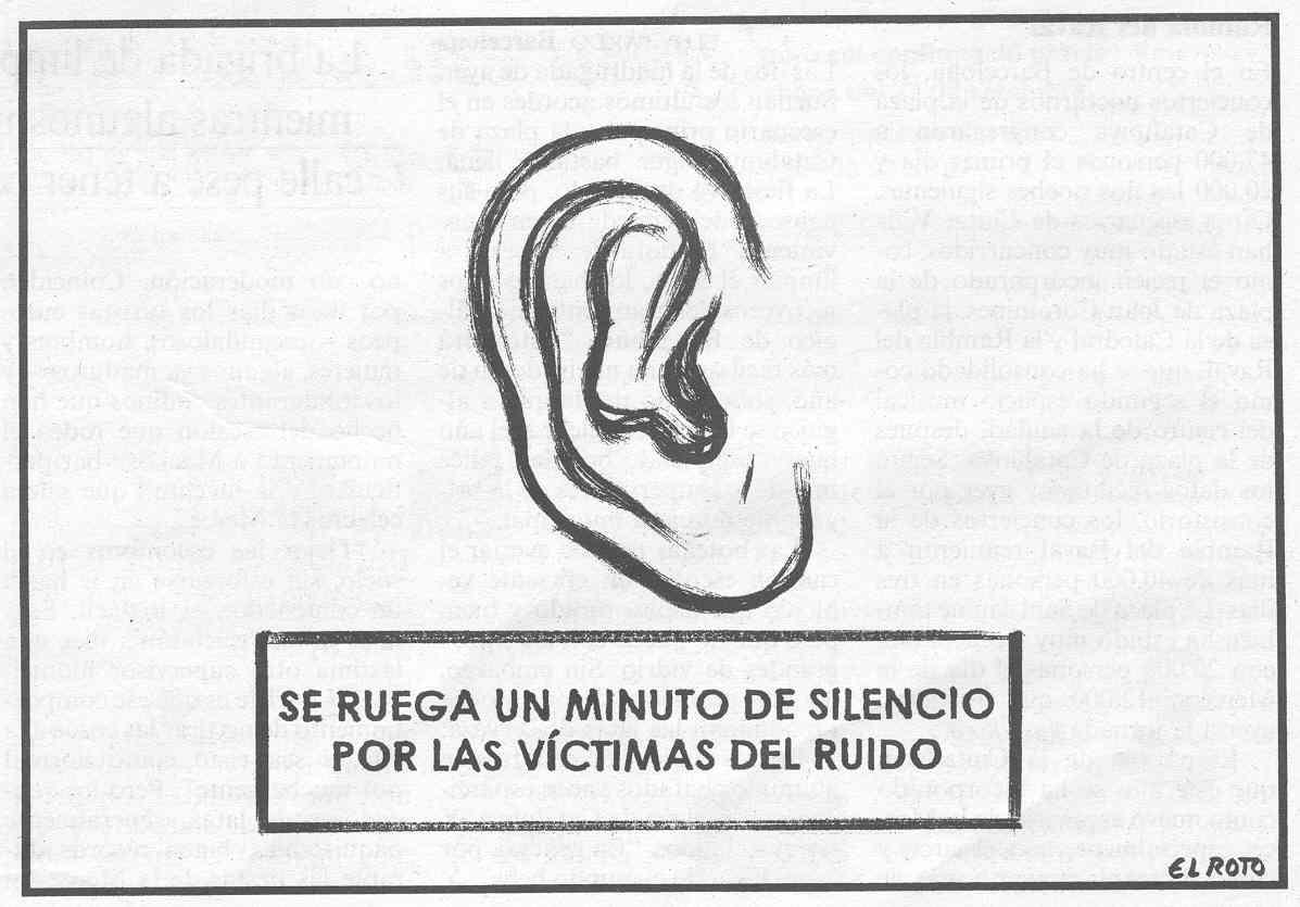 'Contaminación acústica'