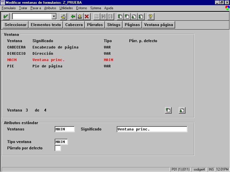 Workbench ABAP 4