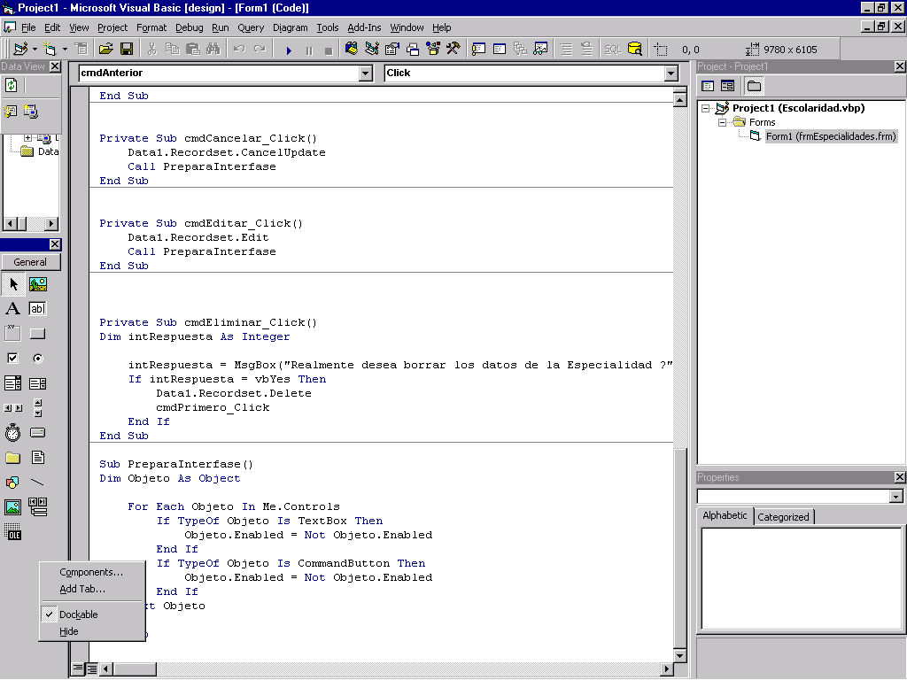 Visual Basic con Access