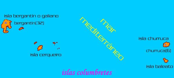 'Islas Columbretes'