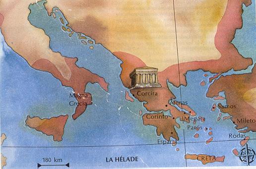 'Filosofía griega del siglo VII aC al año 427 aC'