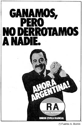 'Historia Argentina 1983-1999'